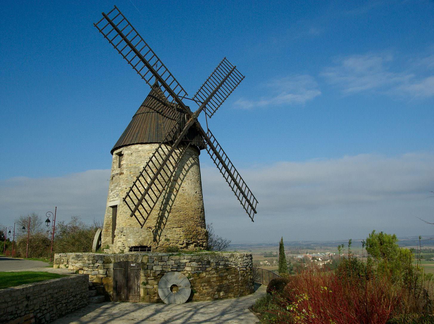 Moulin de Cugarel à Castelnaudary ©Office de Tourisme de Castelnaudary