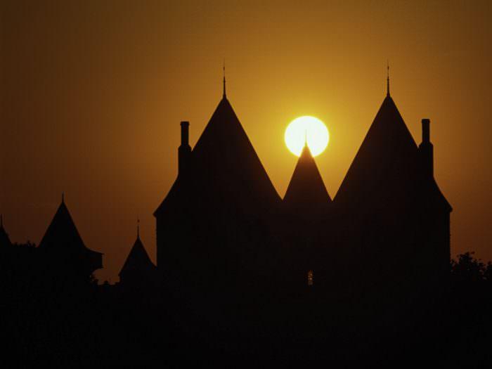 Cité de Carcassonne, tours