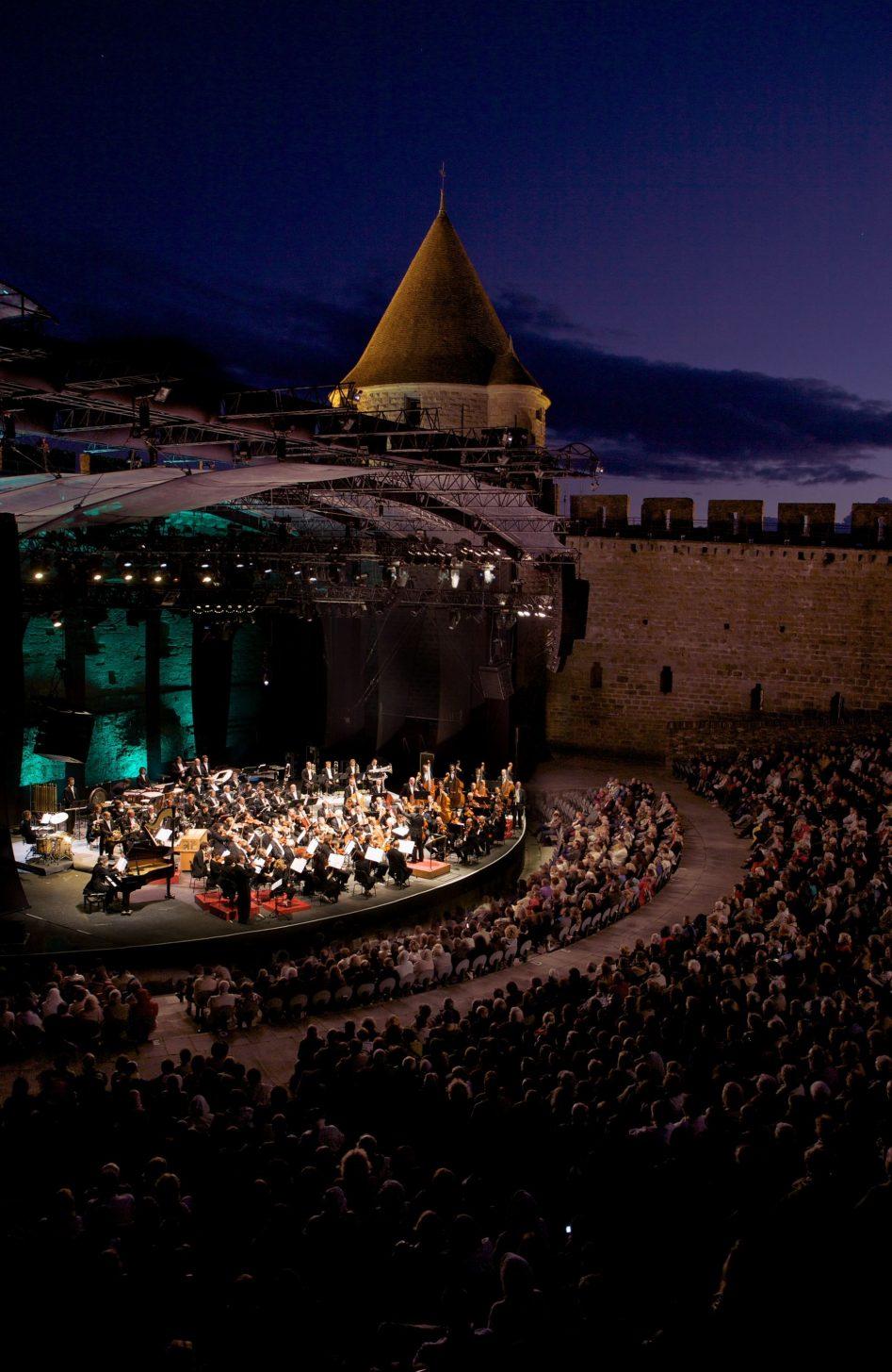 Le Festival de la Cité à Carcassonne ©VIlle de Carcassonne