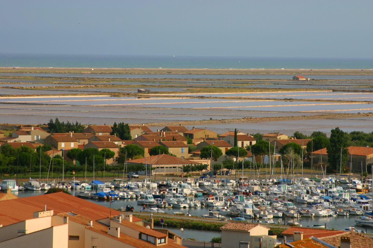 Gruissan port et étang ©Pierre Davy
