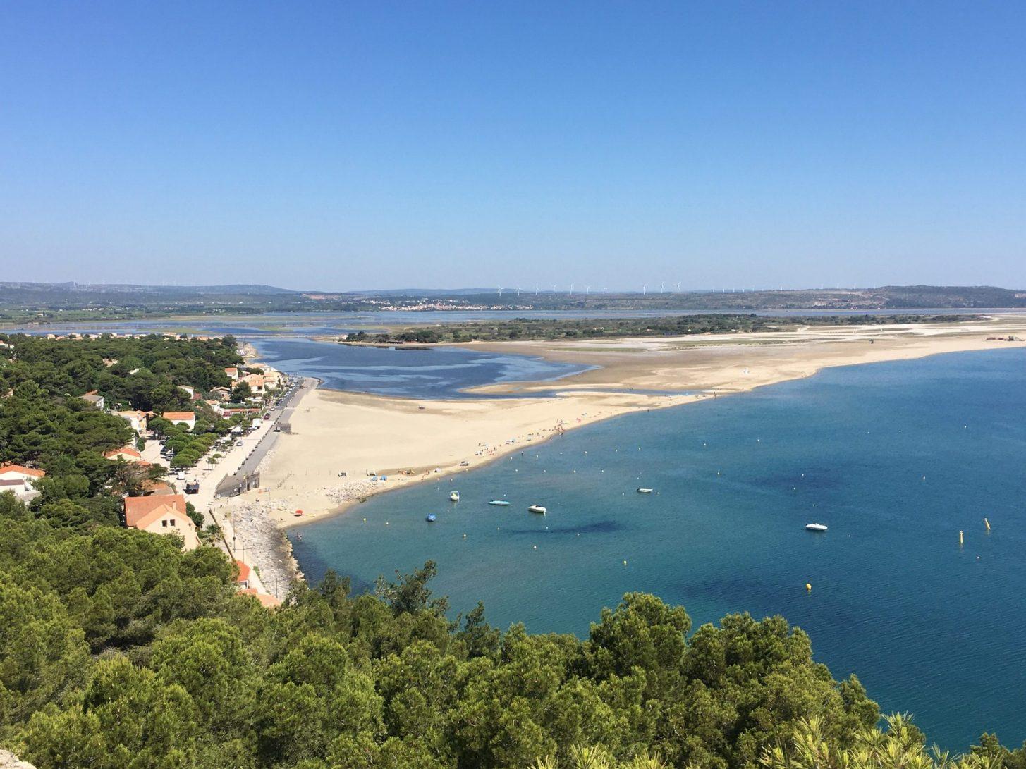 La franqui et sa plage à Leucate ©G Fleury-Office de Tourisme de Leucate