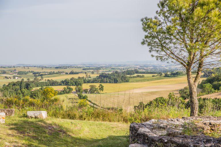 Paysage du Lauragais, cr Office de Tourisme de Castelnaudary