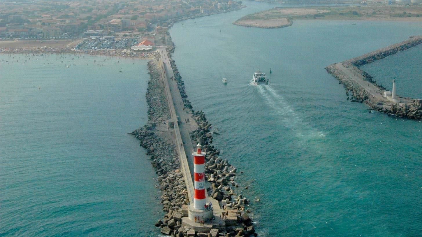 La jetée Port la Nouvelle