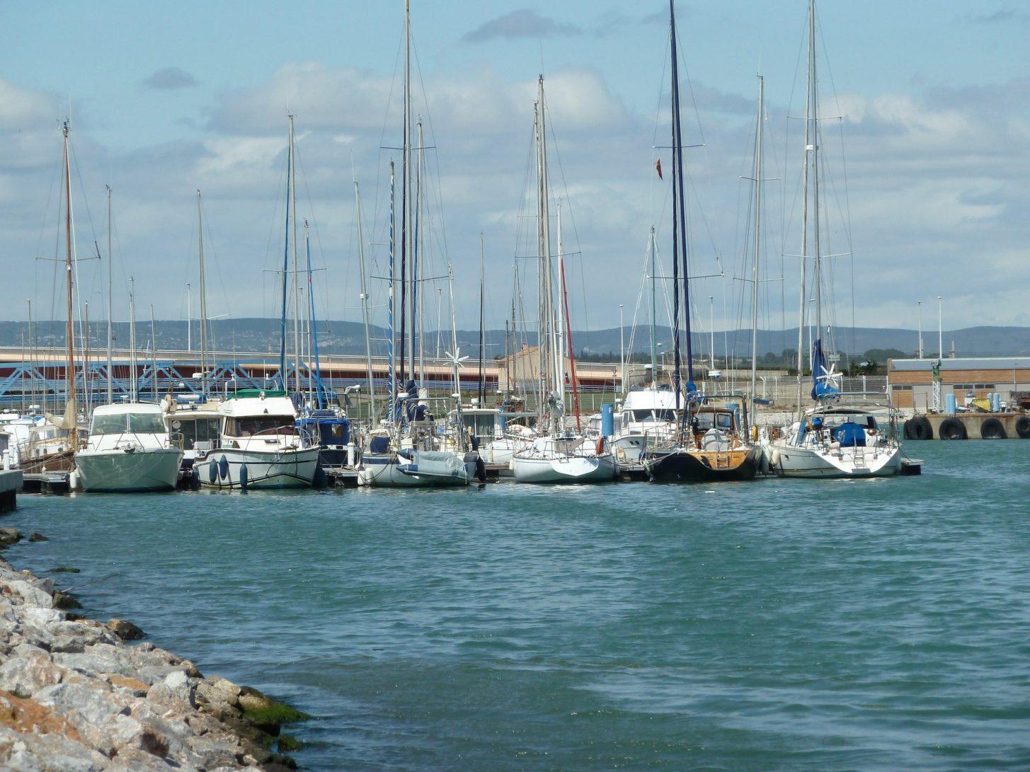 Port la nouvelle et son port de plaisance ©ADT de l'Aude