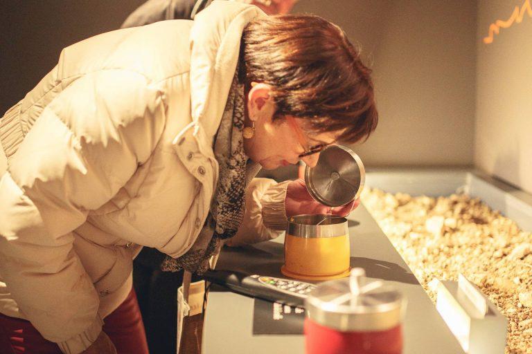 Visite de la boutique à la maison de la truffe ©Vincent Photographie-ADT de l'Aude