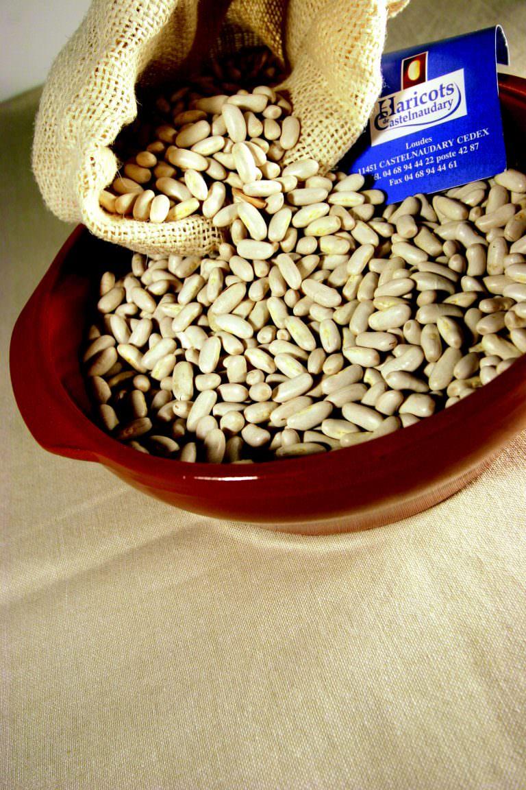 Cassole, haricots lingots