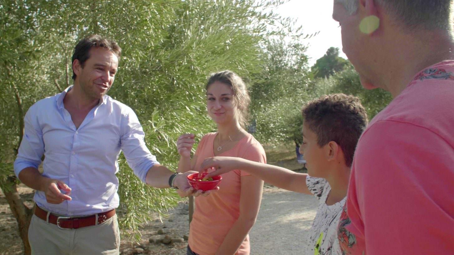 Visite de l'Oulibo à Bize-Minervois