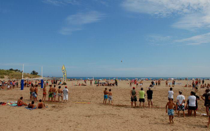 Saint Pierre la mer, tournoi de rugby