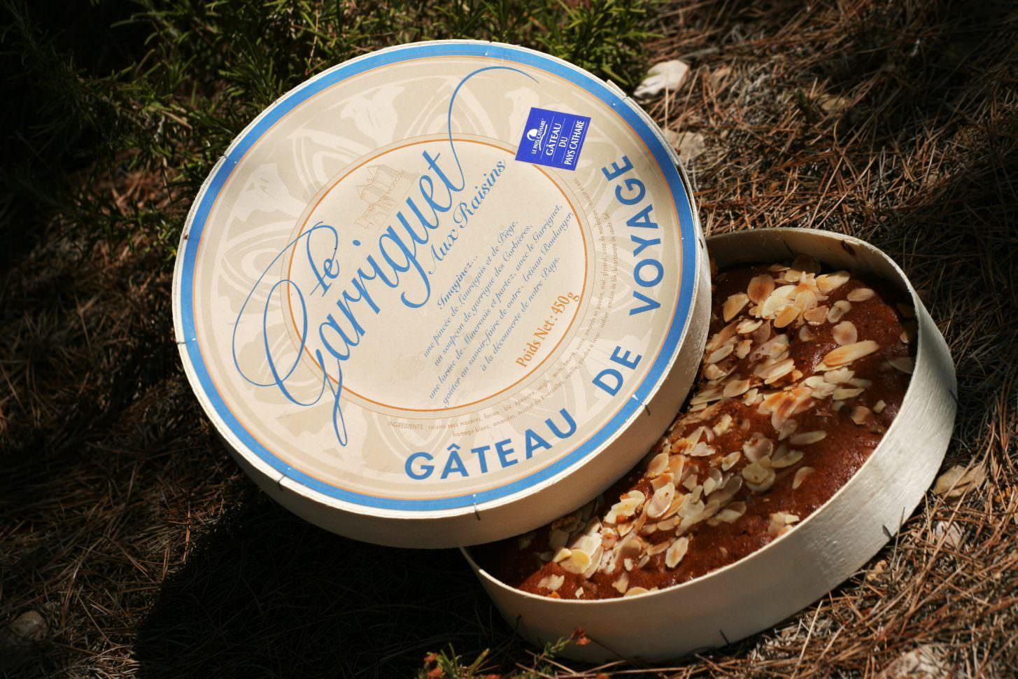 le Garriguet, gâteau de voyage du Pays cathare