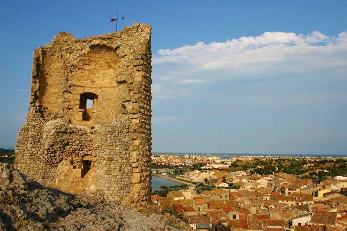 Vue depuis la Tour Barberousse à Gruissan ©Pierre Davy-ADT de l'Aude