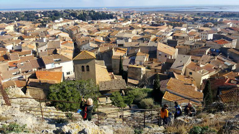 Gruissan, vue du village