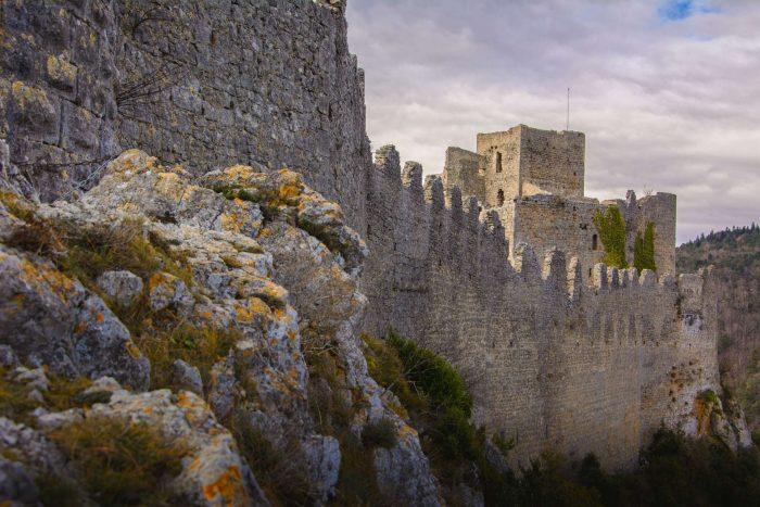 Visite du Château de Puilaurens à Lapradelle ©Vincent Photographie