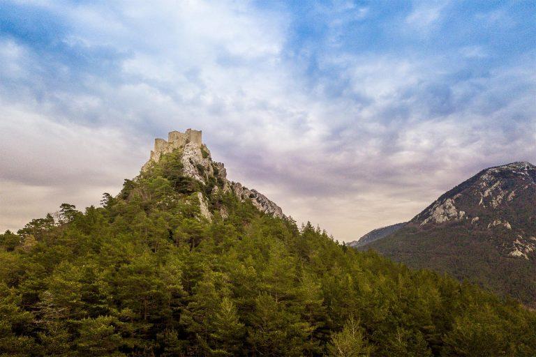 Le château de Puilaurens à Lapradelle-Puilaurens ©Vincent Photographie