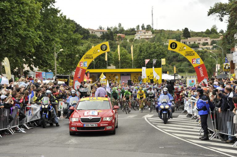 Limoux, tour de france cycliste