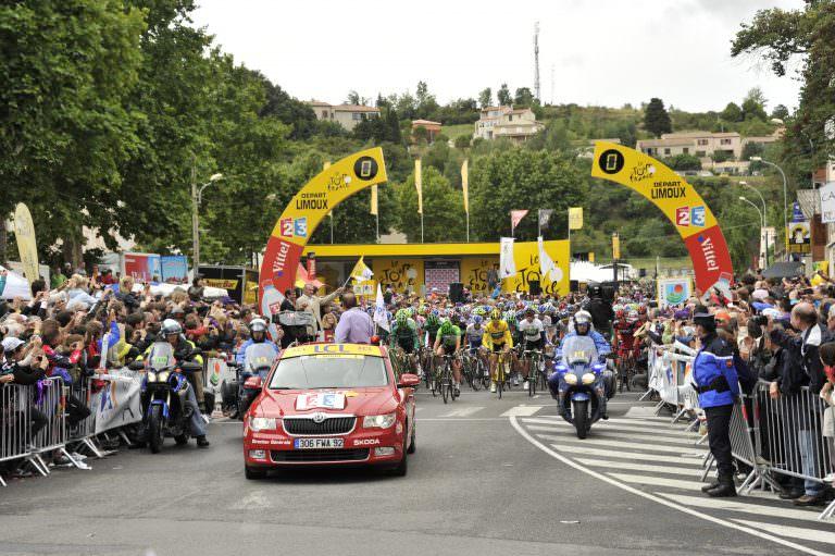 Limoux, tour de france cycliste
