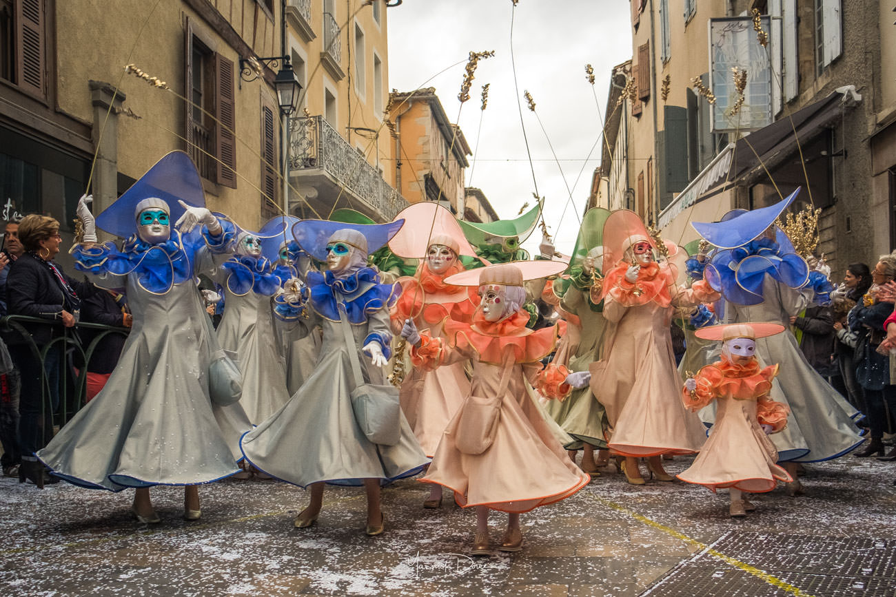 Carnaval de limoux, las femnas