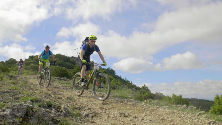 Pic de Nore, descente à vélo