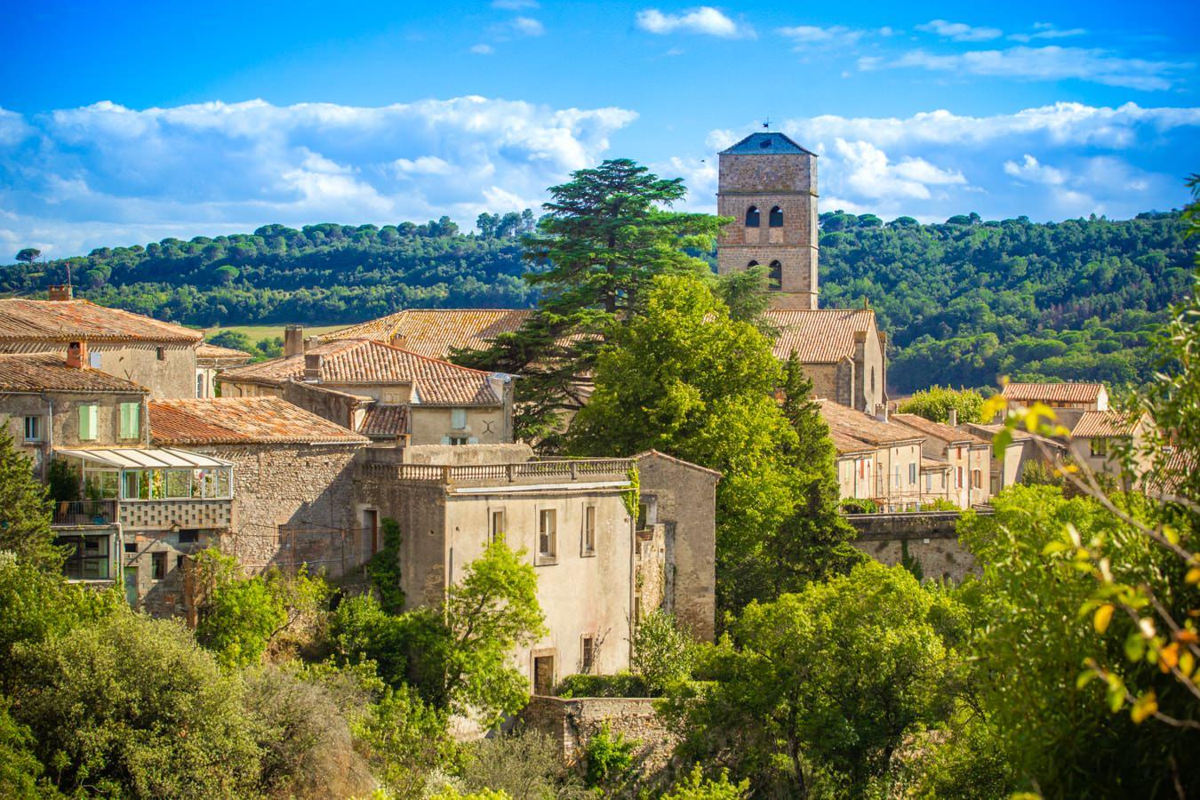 Balade à Montolieu, le village du livre ©CélineDeschamps-ADT de l'Aude