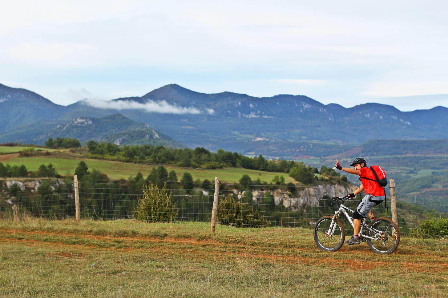 Randonnée VTT en Pyrénées Audoises