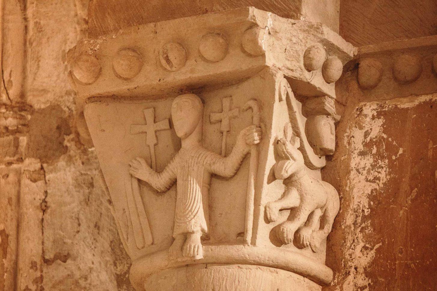 Abbaye Saint-Papoul détail
