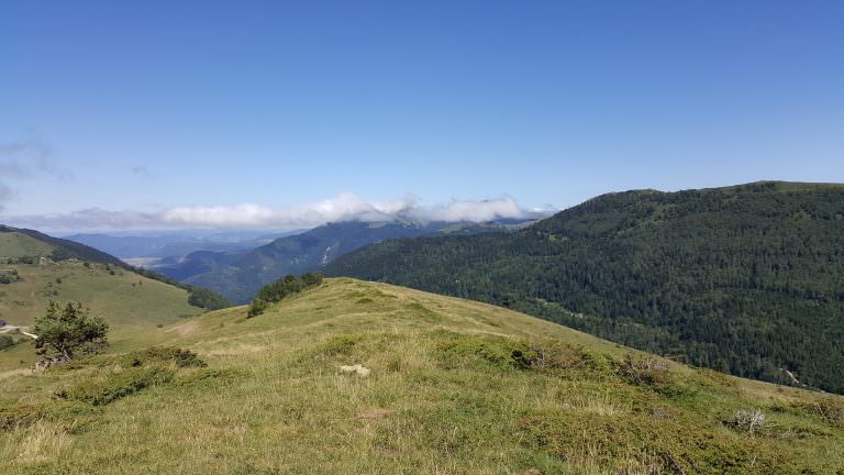 Camurac, paysage, montagne