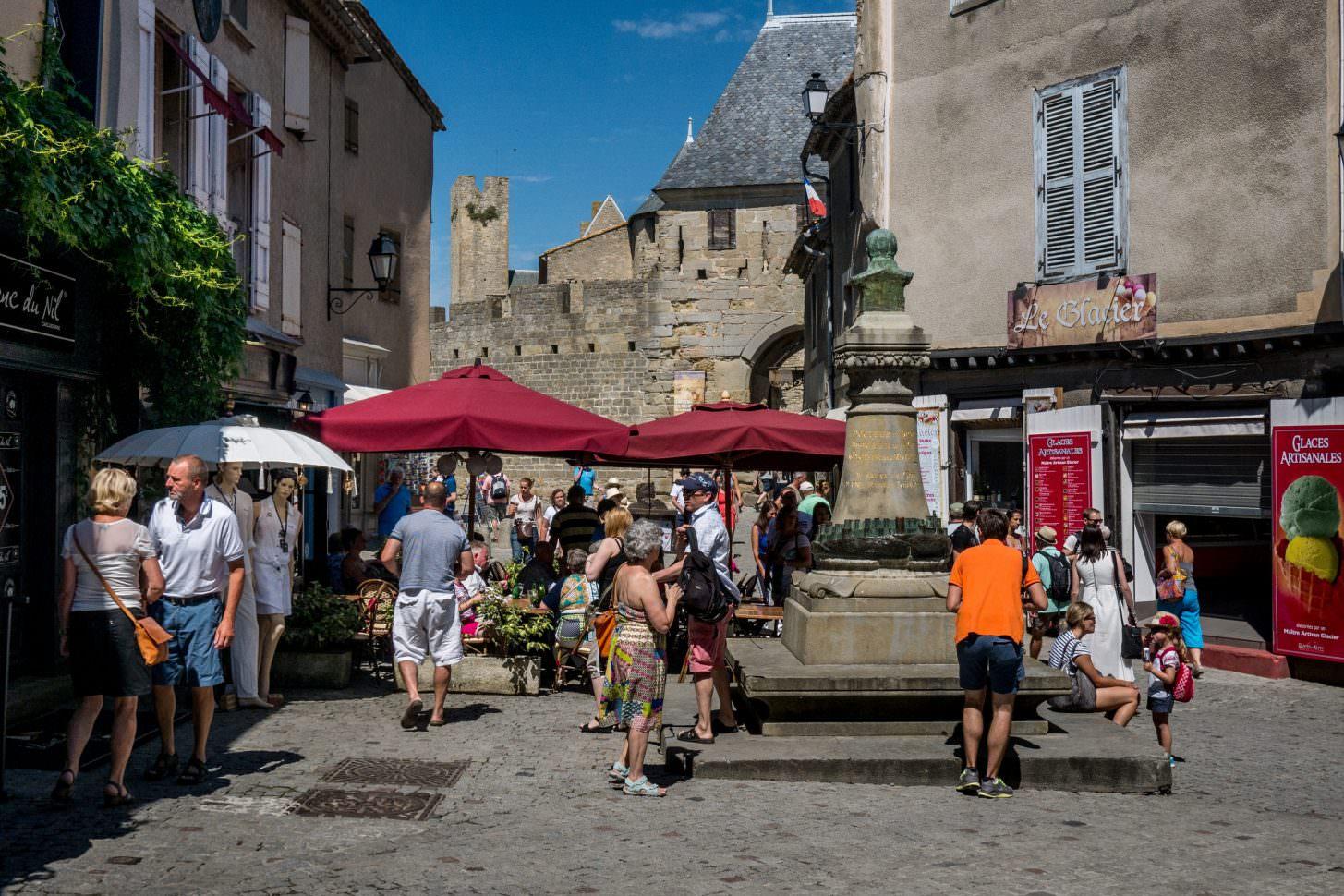 Place du Château Carcassonne