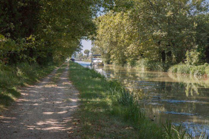 Narbonne, canal de la robine