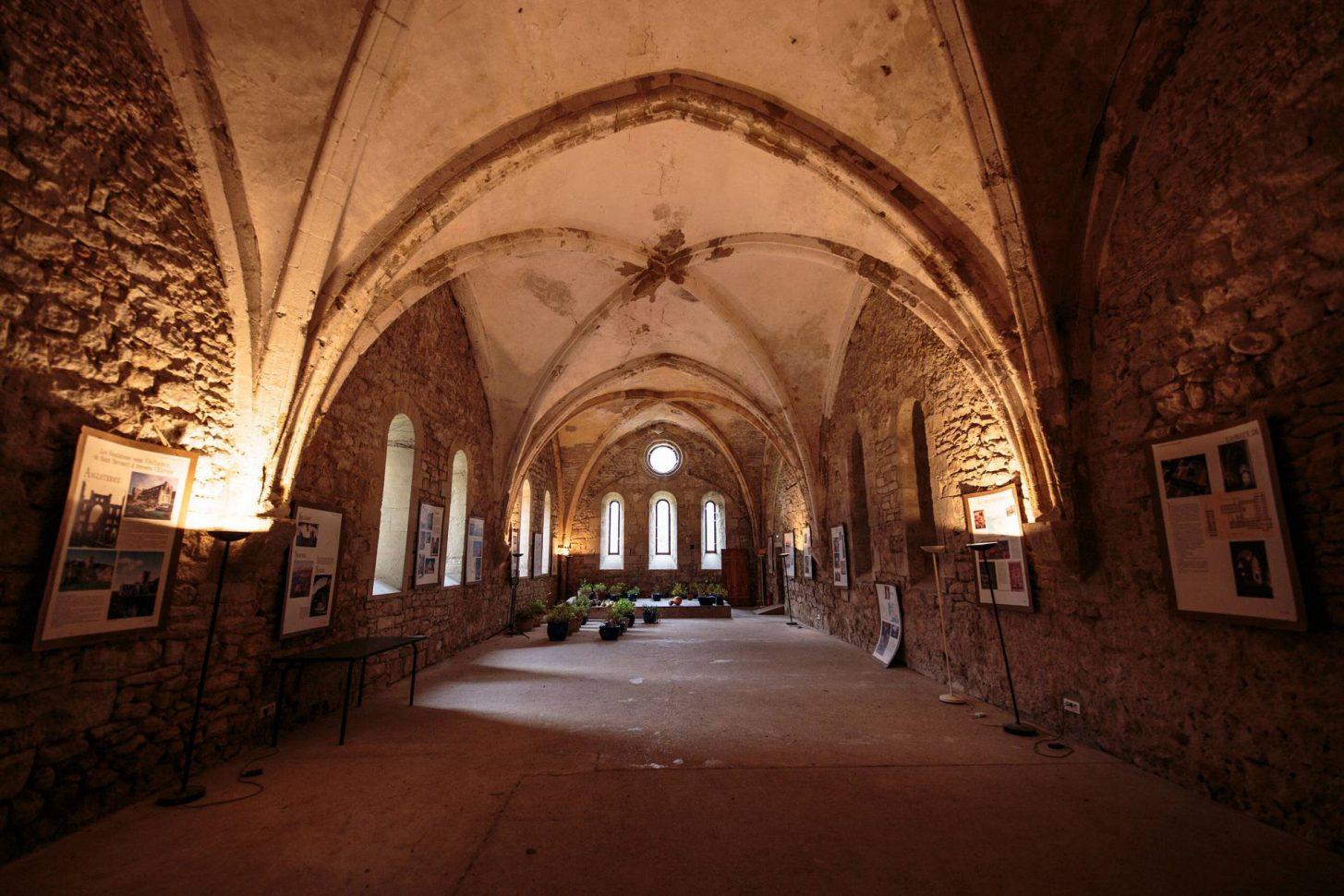 Visite de l'Abbaye Villelongue ©Vincent Photographie