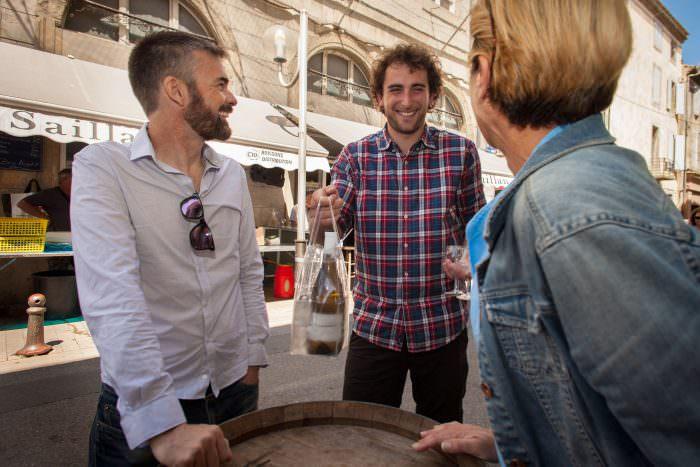Apéritif au bar Saillan à Carcassonne