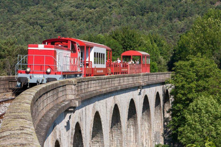 Train touristique Axat/Puilaurens