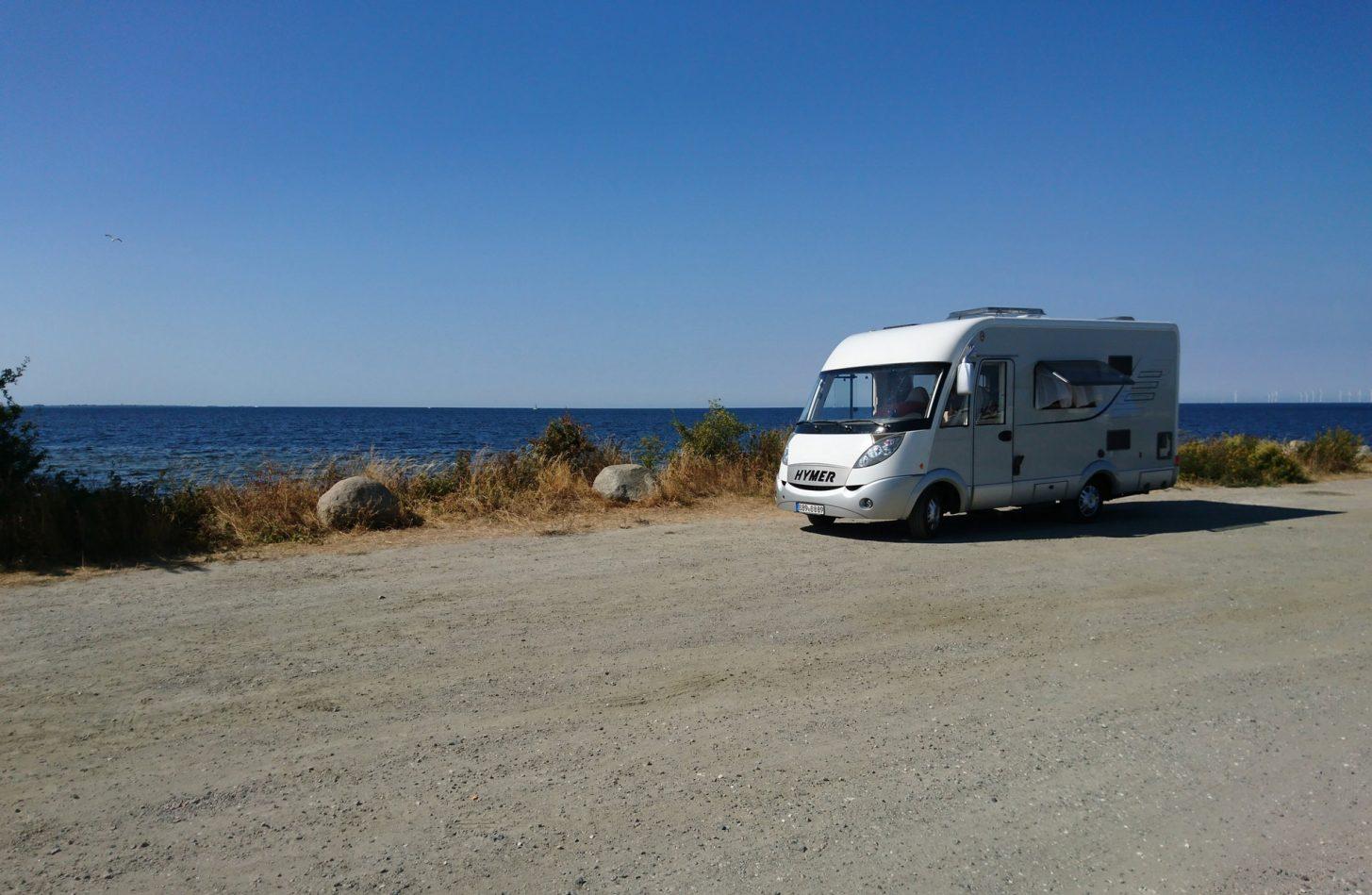 Aire de camping-car dans l'Aude ©V. glatsch