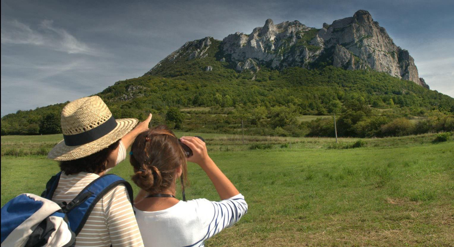 Vue sur le Pech de Bugarach © jl-socquet-juglard