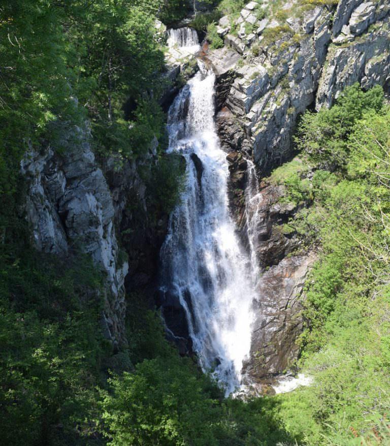 Balade vers la cascade de Cubserviès en montagne Noire