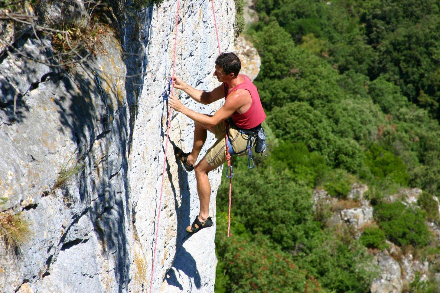 Spot d'escalade dans l'Aude ©Pierre Davy