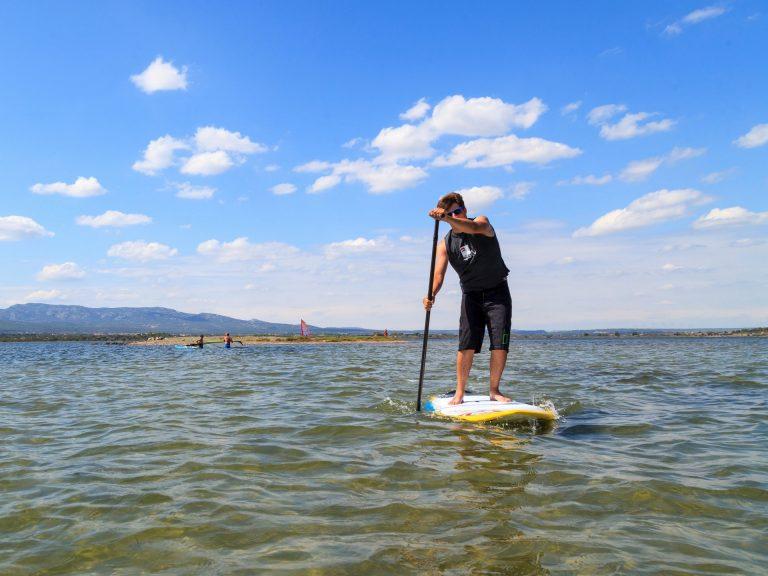 Paddle sur étang - Grand Narbonne © Christophe Baudot
