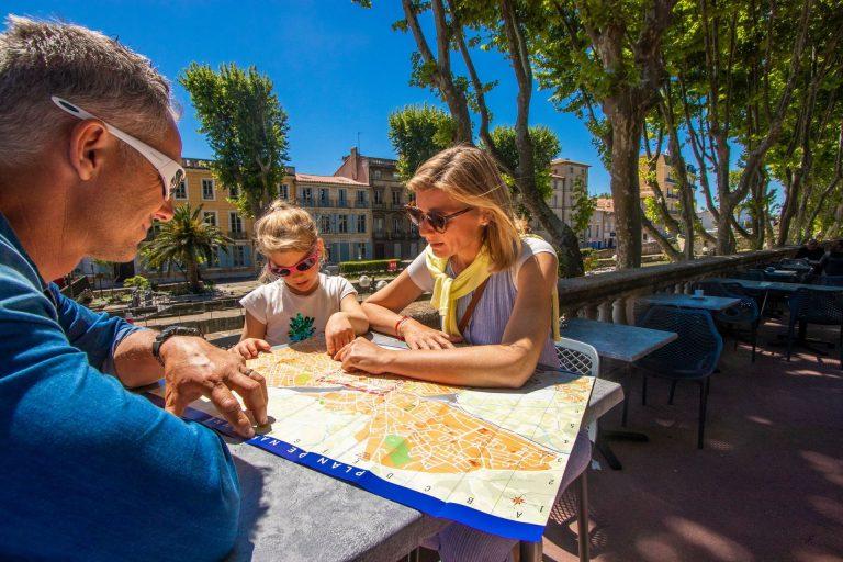 Narbonne, pause en famille ©Céline Deschamps