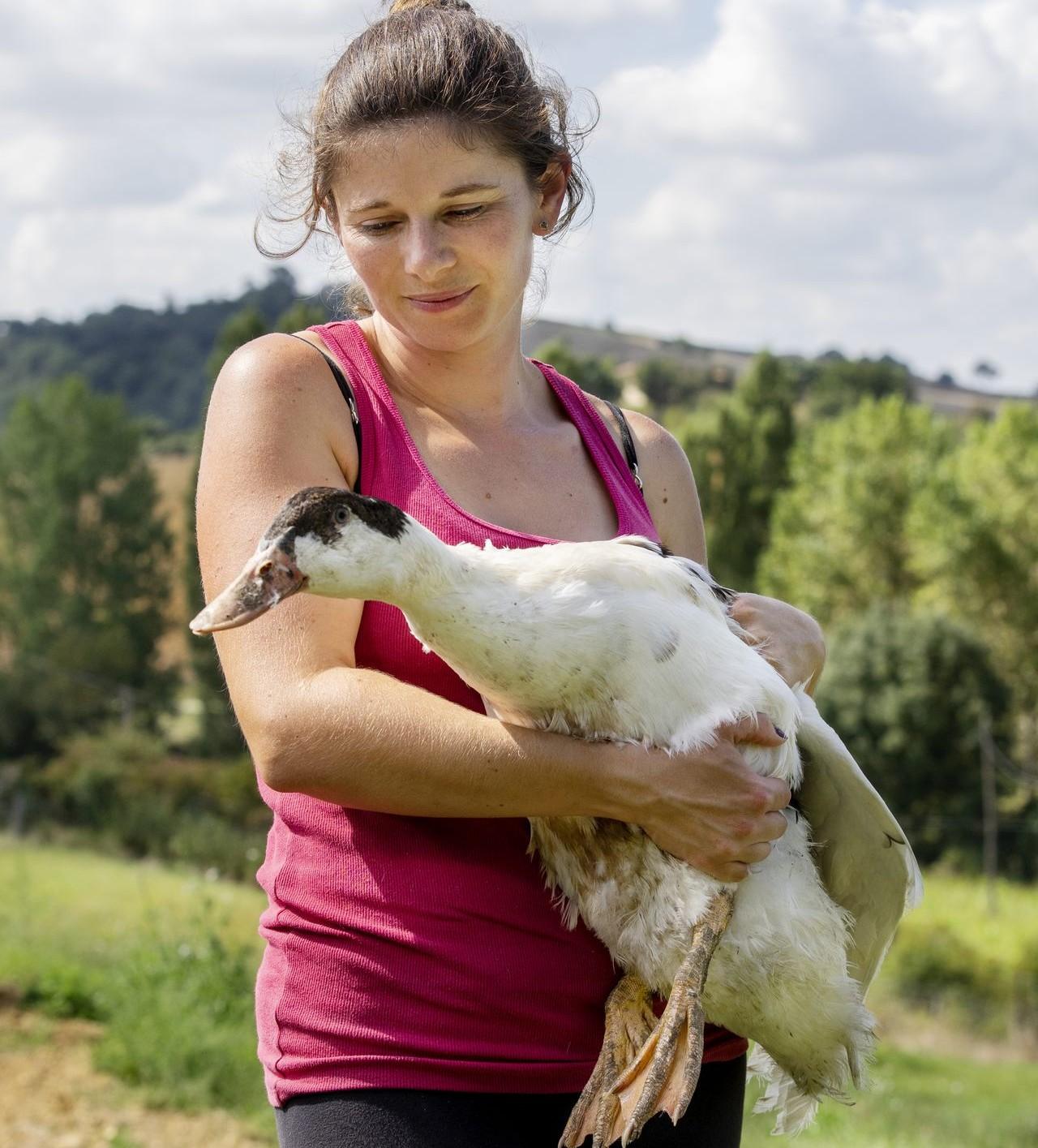 Productrice foie gras et volaille