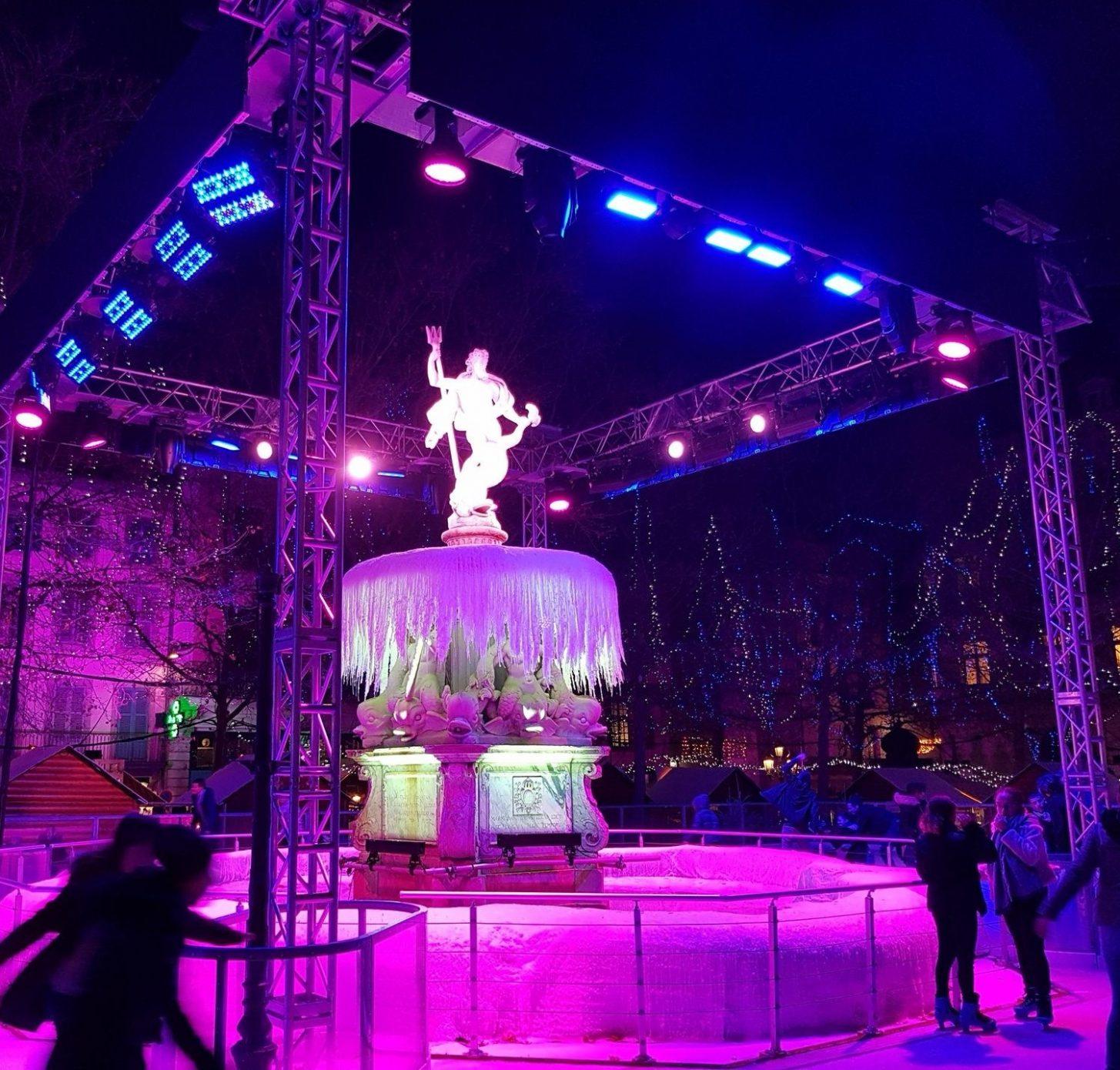 Carcassonne, la Magie de Noël, patinoire