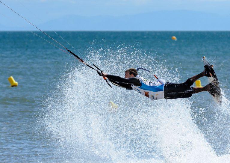 Kite à Saint Pierre la Mer