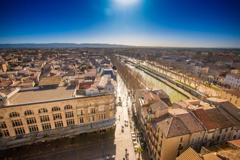 Vue depuis le Donjon Gilles Aycelin à Narbonne ©Céline Deschamps-ADT de l'Aude