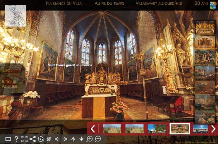 Visites virtuelles de Villasavary