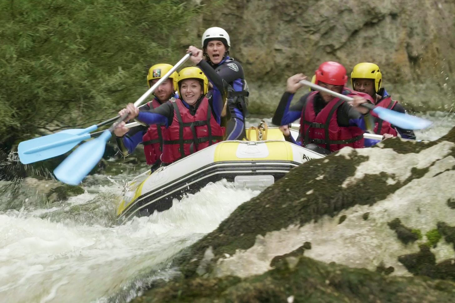 Descente rafting en Haute Vallée de l'Aude ©Ailium-ADT de l'Aude