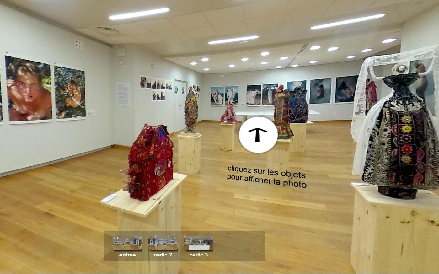 Visites virtuelles de l'espace arts et cultures Les Essar[t]s de Bram