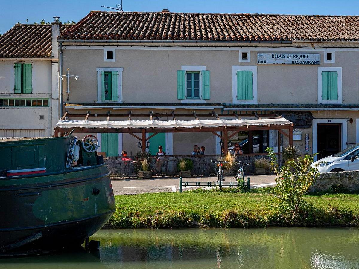 Le Relais de Riquet sur les bords du Canal du Midi, Le Ségala©Office de Tourisme de Castelnaudary