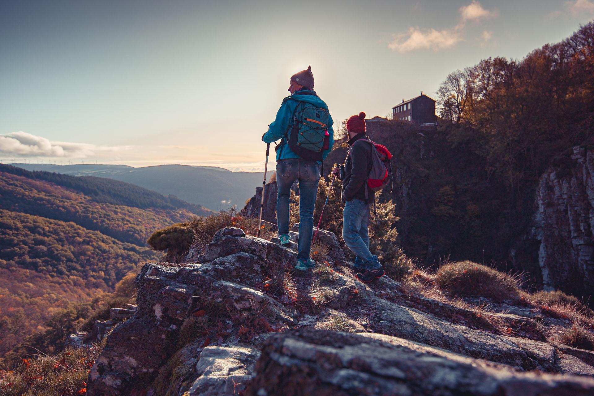 Randonnée dans l'Aude ©Vincent Photographie - ADT de l'Aude