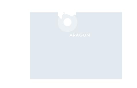 Carte de localisation de la commune d'Aragon