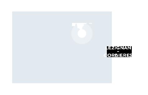 Carte de localisation de la commune de Lézignan - Corbières