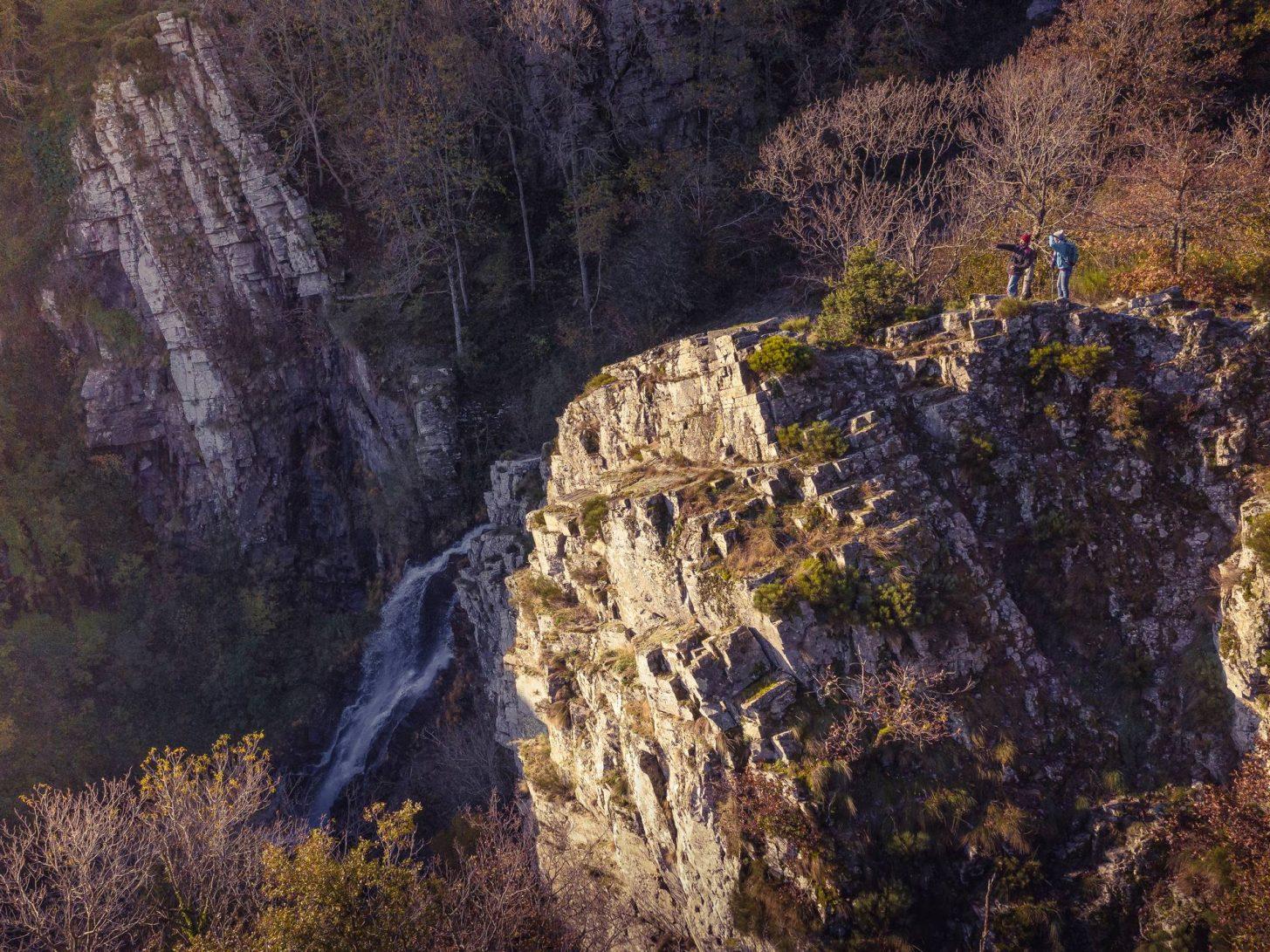 La cascade de Cubservies à Roquefère ©Vincent Photographie, ADT de l'Aude