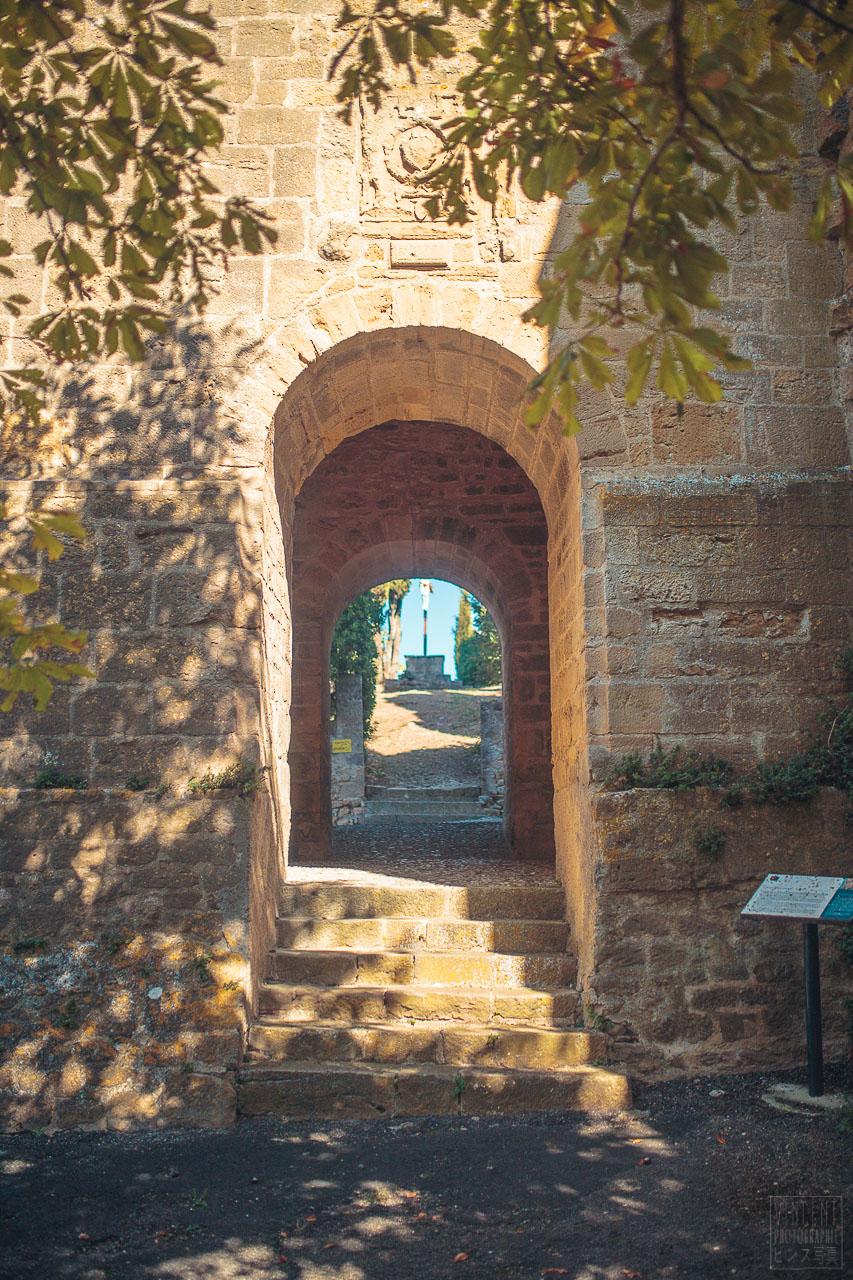 Le village médiéval de Laurac dans la Piège©Vincent Photographie, Pays lauragais, Office de Tourisme Collines cathares