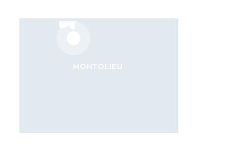 Carte de localisation de Montolieu dans l'Aude